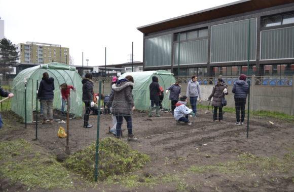 Construction/réhabilitation de jardins partagés
